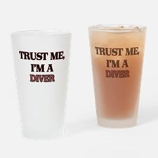 Trust Me, I'm a Diver Drinking Glass