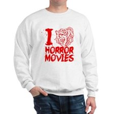 I love horror movies Sweatshirt
