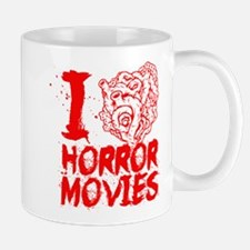 I love horror movies Mug