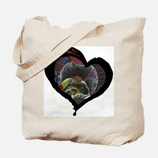 Sickle Cell Heart 3 Tote Bag