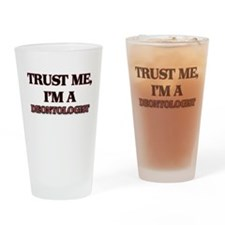 Trust Me, I'm a Deontologist Drinking Glass