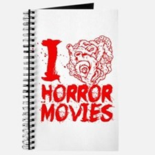 I love horror movies Journal