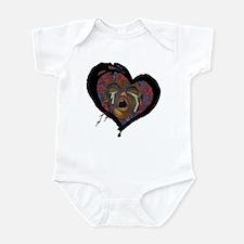 Sickle Cell Art 1 Infant Bodysuit