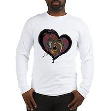 Sickle Cell Art 1 Long Sleeve T-Shirt