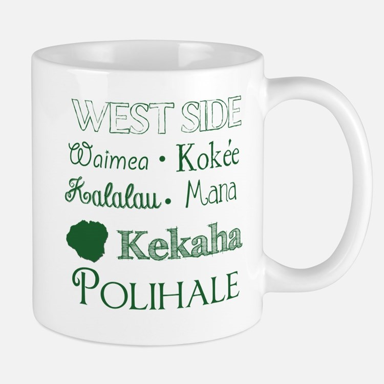 West Side Kauai Subway Art Mugs