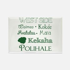 West Side Kauai Subway Art Magnets