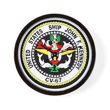 USS John F. Kennedy Wall Clock