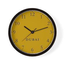 Dubai Wall Clock
