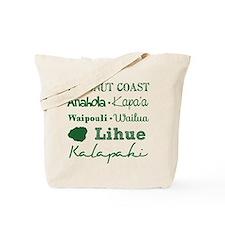 Coconut Coast Subway Art Tote Bag
