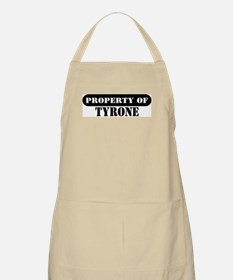 Property of Tyrone BBQ Apron