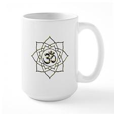 Lotus Om Aum Mug