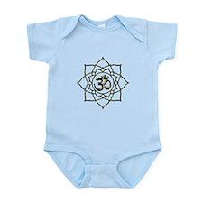 Lotus Om Aum Infant Bodysuit