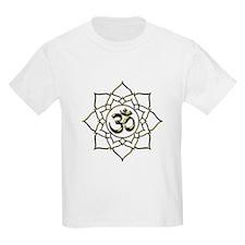 Lotus Om Aum T-Shirt