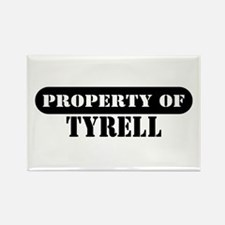 Property of Tyrell Rectangle Magnet