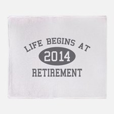Life begins at 2014 Retirement Stadium Blanket