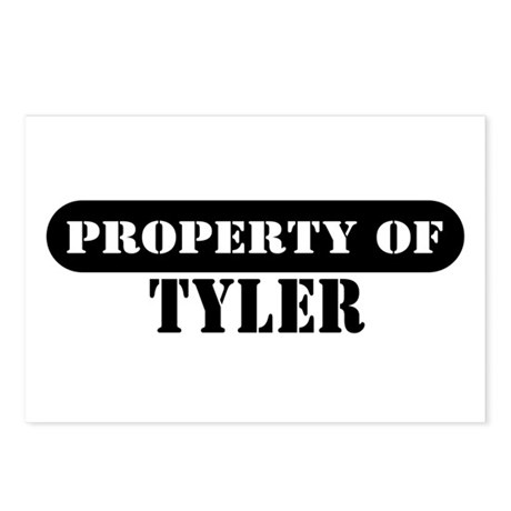 Property of Tyler Postcards (Package of 8)