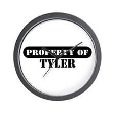 Property of Tyler Wall Clock