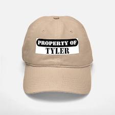 Property of Tyler Baseball Baseball Cap
