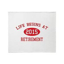 Life begins at 2015 Retirement Stadium Blanket
