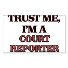 Trust Me, I'm a Court Reporter Decal