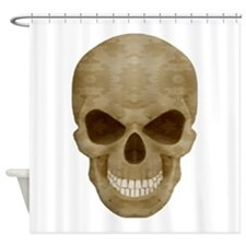 Camouflage Skull Shower Curtain