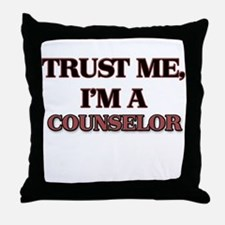 Trust Me, I'm a Counselor Throw Pillow