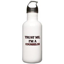 Trust Me, I'm a Counselor Water Bottle