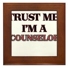 Trust Me, I'm a Counselor Framed Tile
