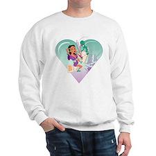 Alien Probe Valentine2 Sweatshirt