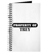 Property of Trey Journal