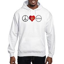 Peace Love Adopt Hoodie