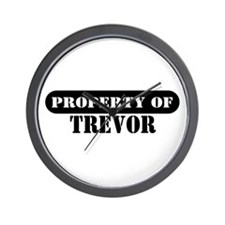 Property of Trevor Wall Clock