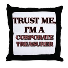 Trust Me, I'm a Corporate Treasurer Throw Pillow