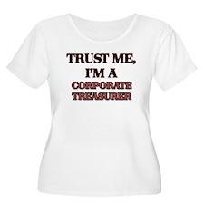 Trust Me, I'm a Corporate Treasurer Plus Size T-Sh
