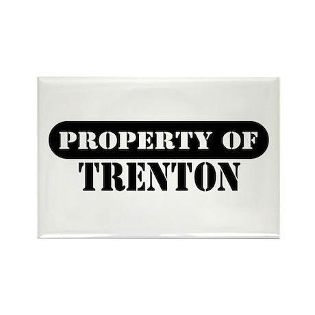 Property of Trenton Rectangle Magnet