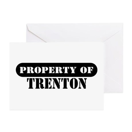 Property of Trenton Greeting Cards (Pk of 10)