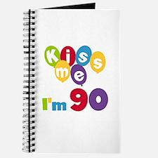 Kiss Me I'm 90 Journal