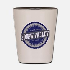 Squaw Valley Ski Resort California Navy Blue Shot