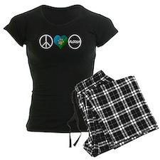 Peace Love Adopt Pajamas