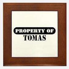 Property of Tomas Framed Tile