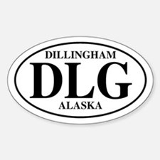 Dillingham Oval Decal
