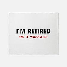 I'm retired - Do it yourself! Stadium Blanket
