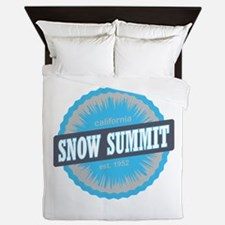 Snow Summit Ski Resort California Sky Blue Queen D