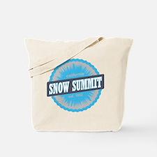 Snow Summit Ski Resort California Sky Blue Tote Ba