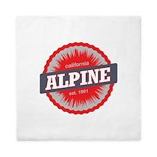 Alpine Meadows Ski Resort California Red Queen Duv