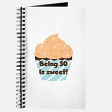 Being 30 is Sweet Birthday Journal