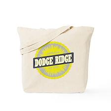 Dodge Ridge Ski Resort California Yellow Tote Bag