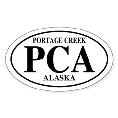 PortageCreek Oval Decal