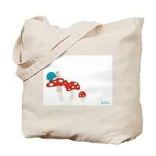 Snail and Toadstool Tote Bag
