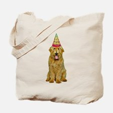Goldendoodle Birthday Tote Bag